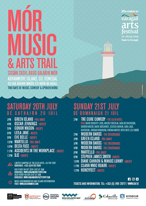 Earagail Arts Festival Arranmore Island Co Donegal