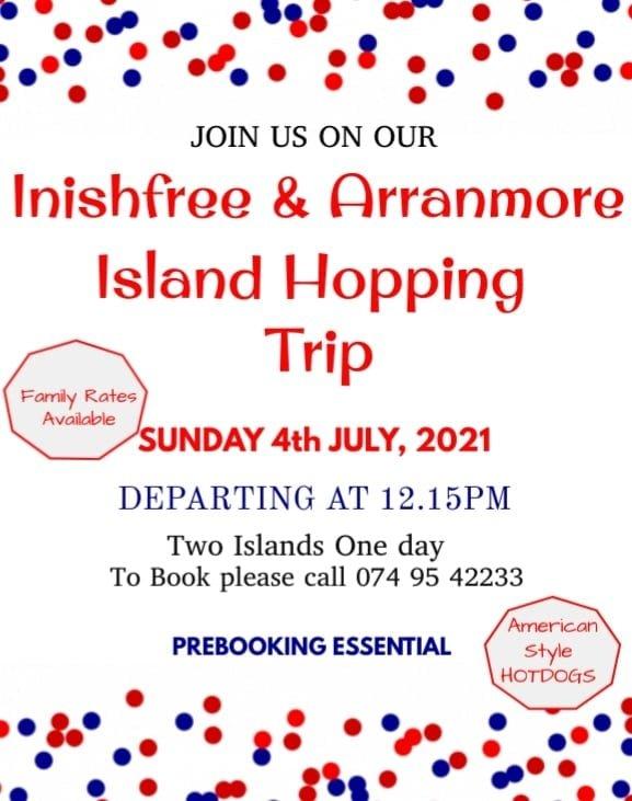 Island-hopping-ArranmoreFerry-Arranmore