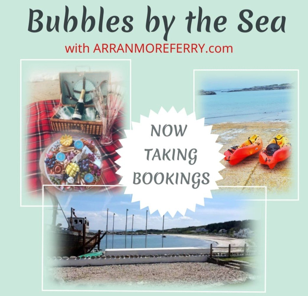 Bubbles-by-the-sea